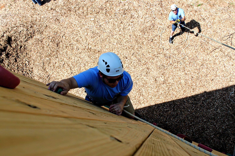Bear Scramble Climbing Wall